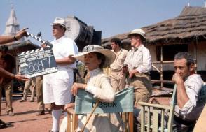 On Location : White Hunter Black Heart (1990) - Behind the Scenes photos