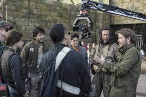 On Set of Rogue One: A Star Wars Story (2016)