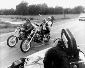 Filming Easy Rider (1969) - Behind the Scenes photos