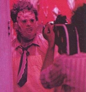 Gunnar Hansen as Leatherface - Behind the Scenes photos