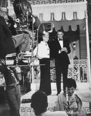 Doris Day and Cary Grant - Behind the Scenes photos