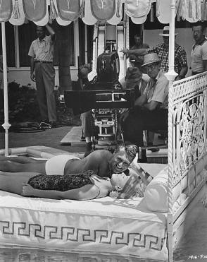 Filming That Touch of Mink (1962) - Behind the Scenes photos