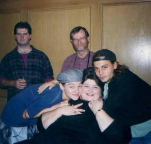 Young Leo with Co-Stars - Behind the Scenes photos