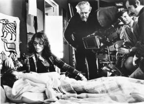 Filming The Tenant (1976) - Behind the Scenes photos
