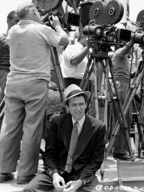 Jimmy Stewart on the Set (1939)