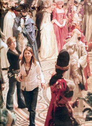 Sofia Coppola : Marie Antoinette (2006) - Behind the Scenes photos
