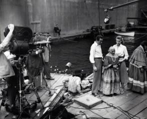 On Set of Key Largo (1948)