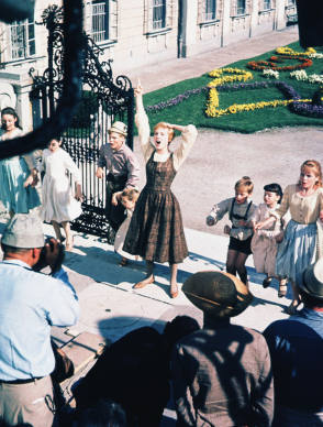 On Set of The Sound of Music (1965)