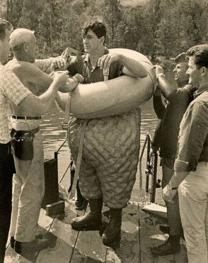 On Set of Man's Favorite Sport? (1964) - Behind the Scenes photos