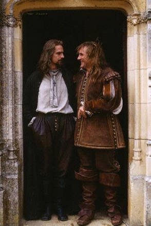 On Set of The Man in the Iron Mask