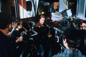 Arnold as Gordon - Behind the Scenes photos