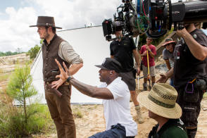 On Set of The Magnificent Seven (2016)