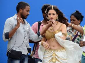 Tamannaah in Baahubali (2015) - Behind the Scenes photos