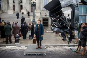 Eddie Redmayne as Newt Scamander - Behind the Scenes photos