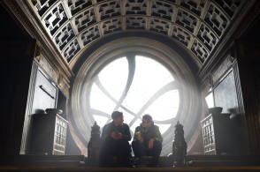 On Set of Doctor Strange (2016)