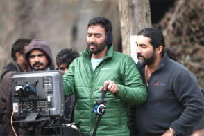 Ajay Devgan : Shivaay (2016) - Behind the Scenes photos