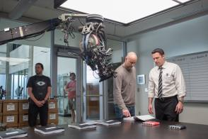 On Set of The Accountant (2016)