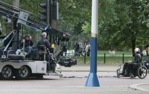 Filming Johnny English Reborn (2011) - Behind the Scenes photos