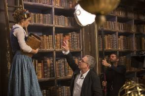 Emma Watson as Belle - Behind the Scenes photos