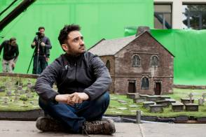 J A Bayona : A Monster Calls (2016) - Behind the Scenes photos