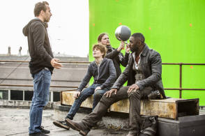 On Set of The Dark Tower (2017)