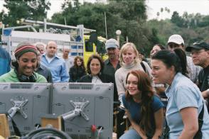 On Location : Herbie Fully Loaded (2005) - Behind the Scenes photos