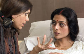 Mira and Tabu - Behind the Scenes photos