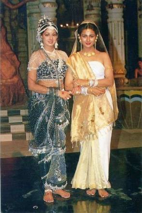 Moon Queen : Sridevi - Behind the Scenes photos