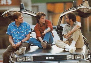 Let's Go Back To The Future - Behind the Scenes photos