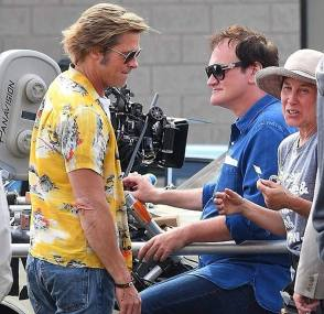 Once Upon A Time In Hollywood (2019) - Behind the Scenes photos