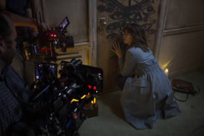 Filming The Curse of La Llorona - Behind the Scenes photos