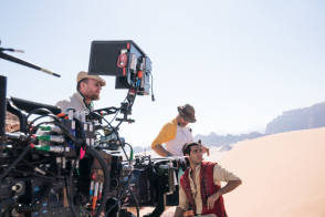 Aladdin Shoot In Jordan - Behind the Scenes photos
