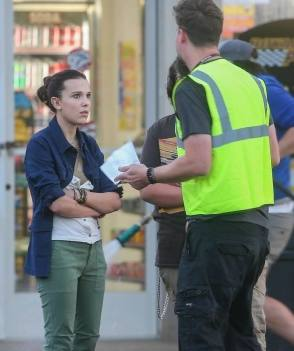 Millie And Adam - Behind the Scenes photos