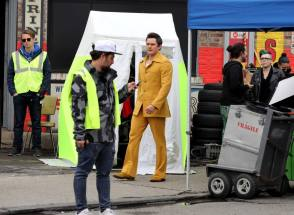 Michael In Yellow - Behind the Scenes photos