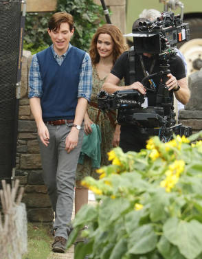 Filming Peter Rabbit 2