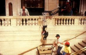 On Set of The Untouchables (1987) - Behind the Scenes photos