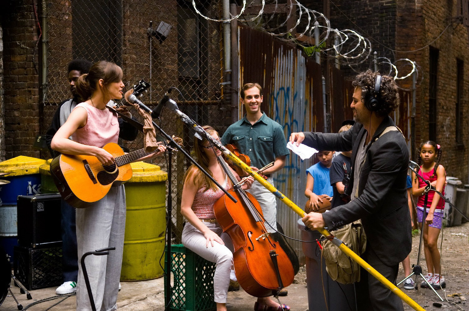 Begin Again Behind the Scenes Photos & Tech Specs