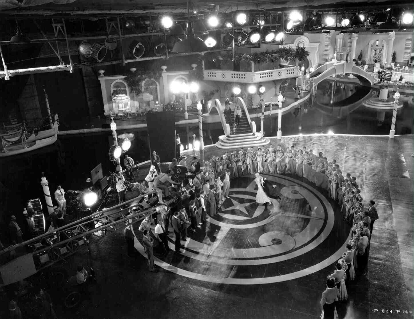 On the Set of Top Hat (1935) Behind the Scenes