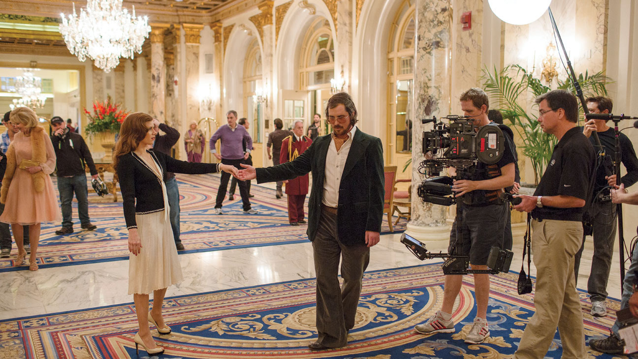 American Hustle Behind the Scenes Photos & Tech Specs