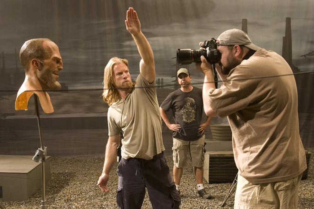 Thick Skull of Jason Statham : Crank 2 (2009) Behind the Scenes