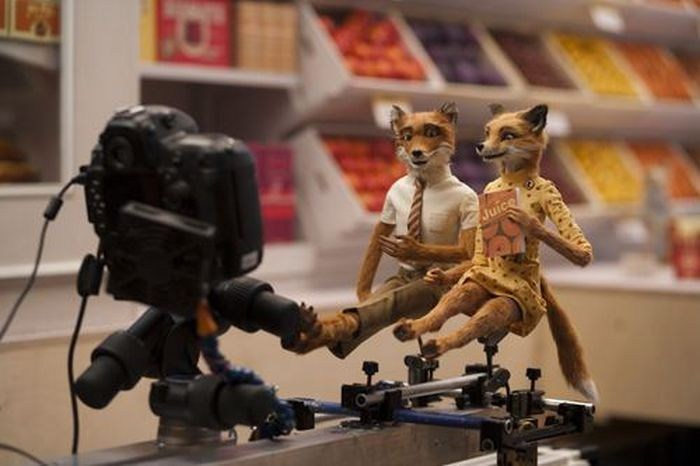 Fantastic Mr. Fox Behind the Scenes Photos & Tech Specs