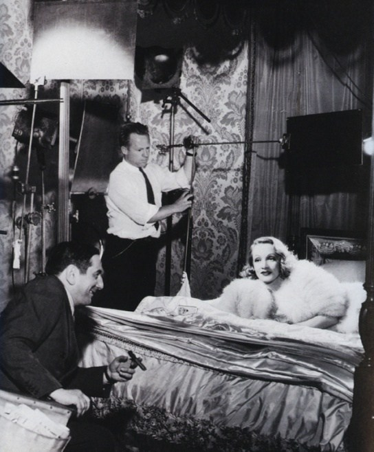 An Angel in the Film Angel (1937) Behind the Scenes