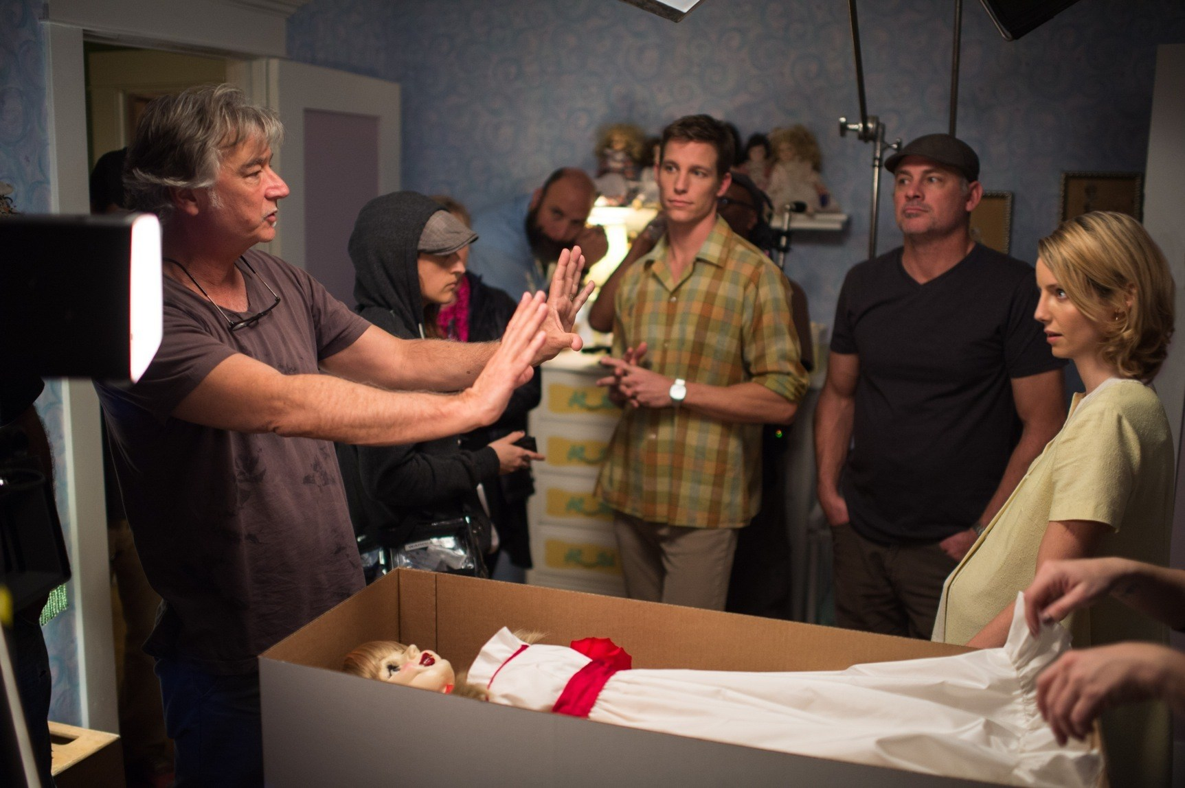 Annabelle Behind the Scenes Photos & Tech Specs