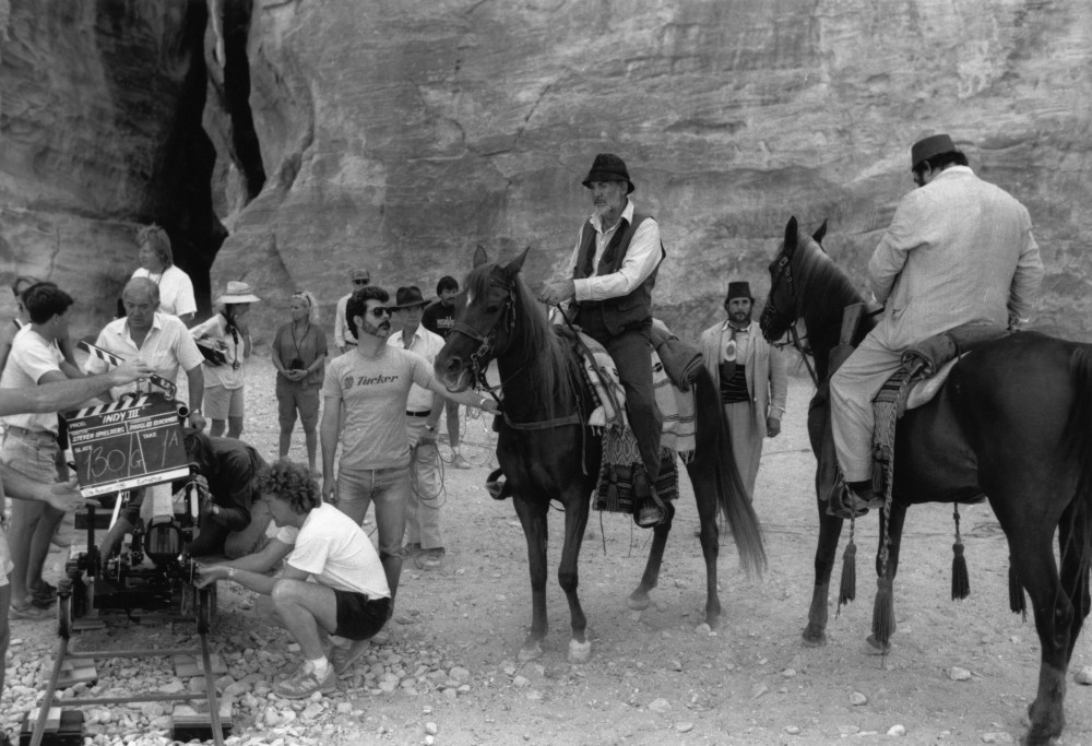 Indiana Jones and the Last Crusade Behind the Scenes Photos & Tech Specs