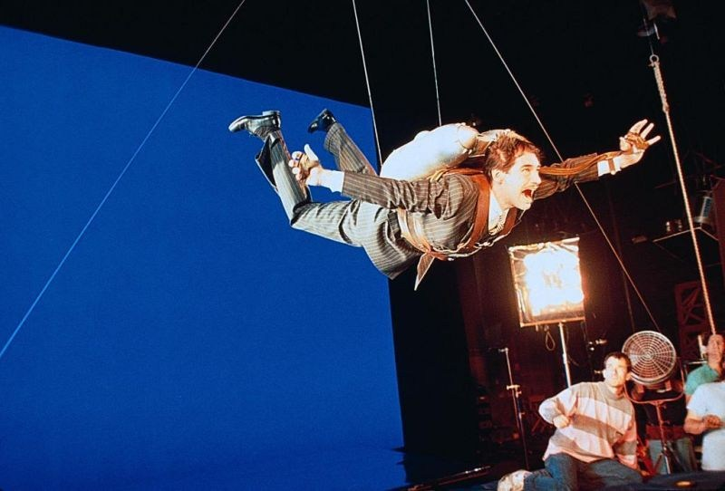 Timothy Dalton Is Flying Behind the Scenes