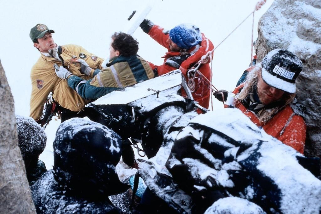 Filming Cliffhanger (1993) Behind the Scenes