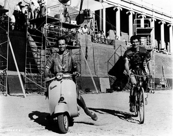 Ben-Hur Behind the Scenes Photos & Tech Specs