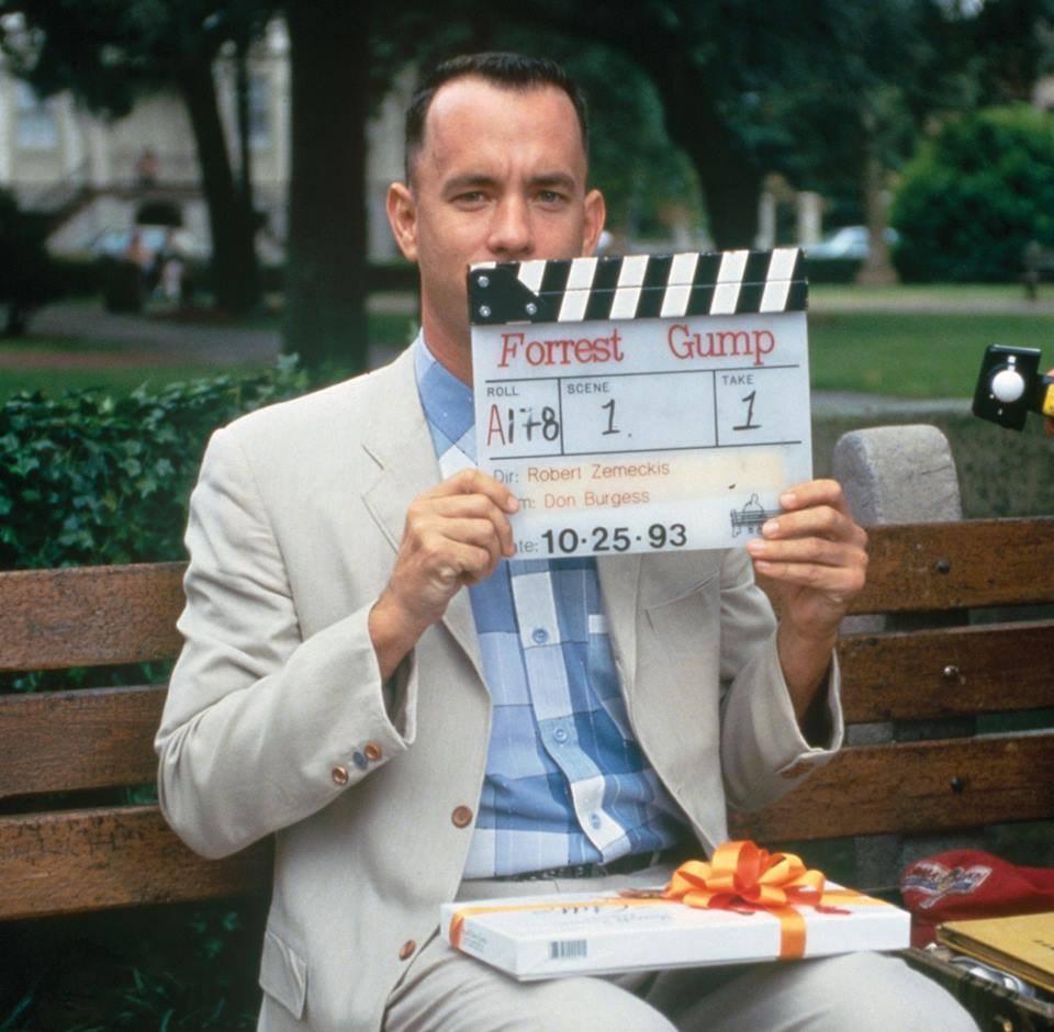 Tom Hanks : Forrest Gump (1994) Behind the Scenes