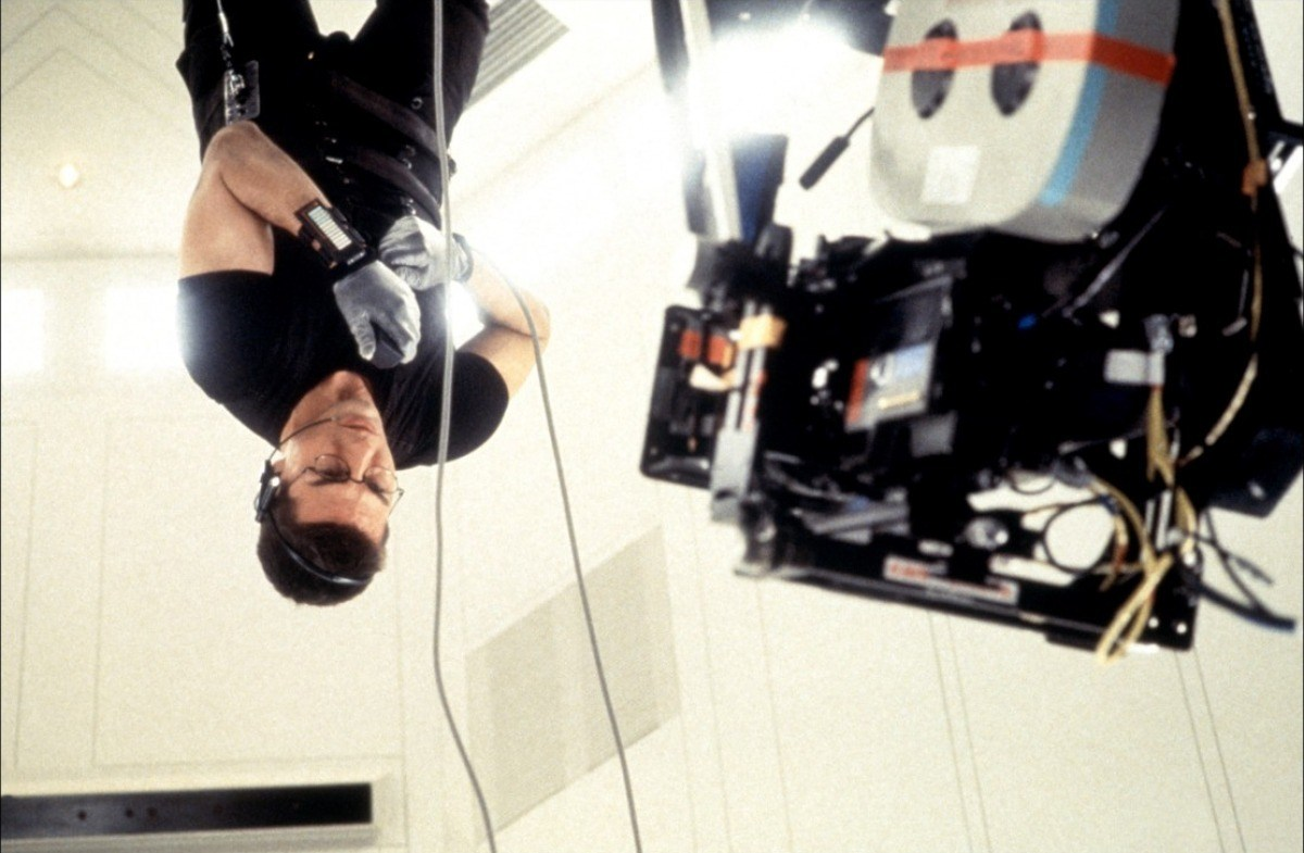 Tom Cruise in Mission Impossible (1996) Behind the Scenes