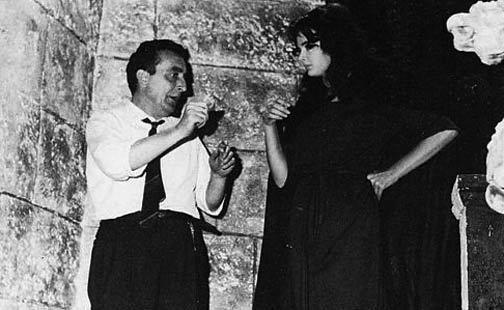 Mario & Barbara : Black Sunday (1960) Behind the Scenes